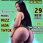 Mizz Jada Thyck Big Ass Photos - February 2019 Issue