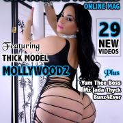 Mollywoodz Big Ass Photos - February 2019 Issue