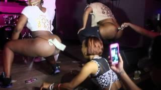 Big Booty Strippers Shake Their Asses For A Few Dollars