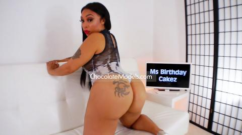Ms Birthday Cakez - August 2018 Black and Grey One Piece Preview Video