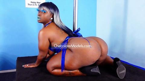 Mz Booty XXX Chocolate Models Photo Shoot Full Video - November 2017