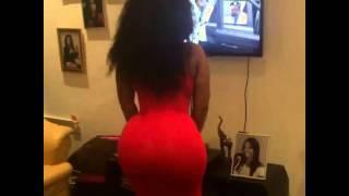 Moesha Boduong shakes explosive booty on Instagram