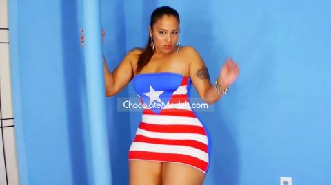 Scarlett - August 2018 Puerto Rican Flag Dress Preview Video