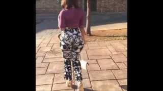 Agnes Masogange Has A Big Juicy Booty, Twerks Naturally By Just Walking 2