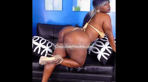 Mz Booty XXX Chocolate Models Photo Shoot Full Video - January 2017