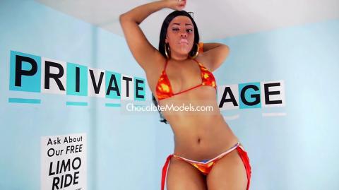 Katrina - January 2018 Red Bikini Preview Video