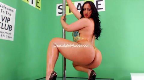 Jada Gemz Chocolate Models Photo Shoot 2 Full Video - November 2015