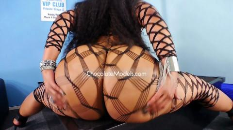 Elegance Ellie Yabish September 2015 Black Body Stocking Preview