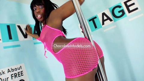 Kayla Black - July 2018 Pink Fishnet Dress Preview Video