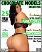 Paola Curvz, June 2015 Issue